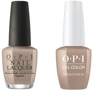OPI - Gel & Lacquer Combo - Coconuts Over OPI-Beyond Polish