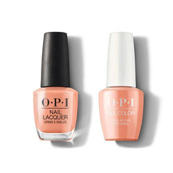 OPI - Gel & Lacquer Combo - Coral-ing Your Spirit Animal-Beyond Polish