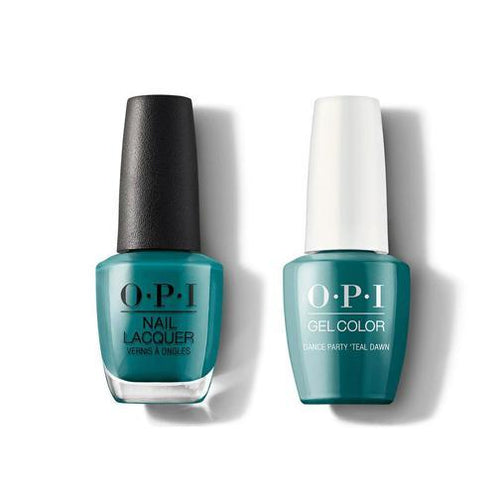 OPI - Gel & Lacquer Combo - Dance Party 'Teal Dawn-Beyond Polish