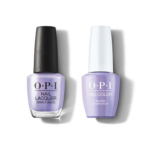 OPI - Gel & Lacquer Combo - Galleria Vittorio Violet-Beyond Polish