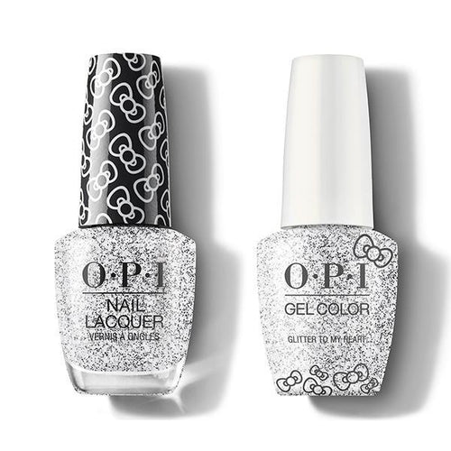 OPI - Gel & Lacquer Combo - Glitter To My Heart-Beyond Polish