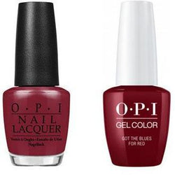 OPI - Gel & Lacquer Combo - Got The Blues For Red-Beyond Polish
