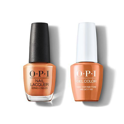 OPI - Gel & Lacquer Combo - Have Your Panettone And Eat It Too-Beyond Polish