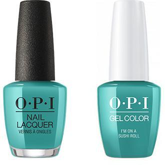 OPI - Gel & Lacquer Combo - Im On a Sushi Roll-Beyond Polish