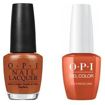 OPI - Gel & Lacquer Combo - It's a Piazza Cake-Beyond Polish