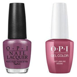 OPI - Gel & Lacquer Combo - Just Lanai-ing Around-Beyond Polish