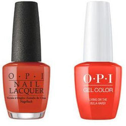 OPI - Gel & Lacquer Combo - Living On the Bula-vard!-Beyond Polish