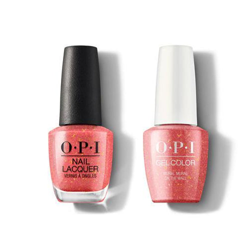 OPI - Gel & Lacquer Combo - Mural Mural On The Wall-Beyond Polish