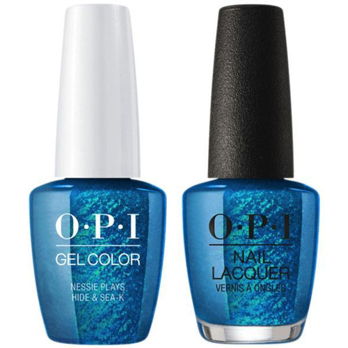 OPI - Gel & Lacquer Combo - Nessie Plays Hide & Sea-k-Beyond Polish