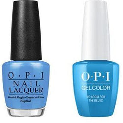 OPI - Gel & Lacquer Combo - No Room For the Blues-Beyond Polish