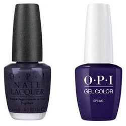 OPI - Gel & Lacquer Combo - OPI Ink-Beyond Polish