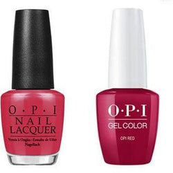 OPI - Gel & Lacquer Combo - OPI Red-Beyond Polish