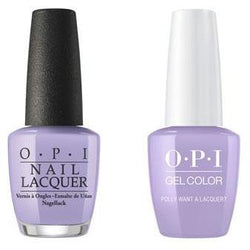 OPI - Gel & Lacquer Combo - Polly Want a Lacquer?-Beyond Polish