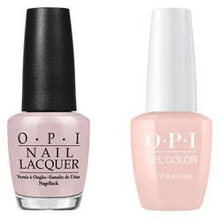OPI - Gel & Lacquer Combo - Put It In Neutral-Beyond Polish