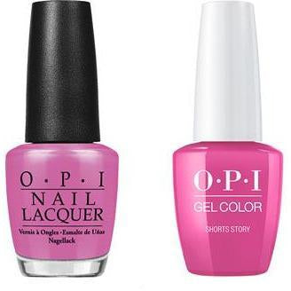 OPI - Gel & Lacquer Combo - Shorts Story-Beyond Polish
