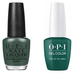 OPI - Gel & Lacquer Combo - Stay Off the Lawn!!-Beyond Polish