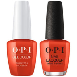 OPI - Gel & Lacquer Combo - Suzi Needs a Loch-smith-Beyond Polish