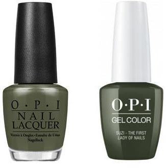 OPI - Gel & Lacquer Combo - Suzi The First Lady of Nails-Beyond Polish