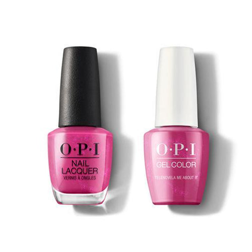 OPI - Gel & Lacquer Combo - Telenovela Me About It-Beyond Polish
