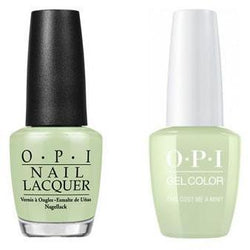 OPI - Gel & Lacquer Combo - This Cost Me A Mint-Beyond Polish