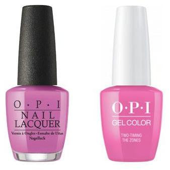 OPI - Gel & Lacquer Combo - Two-Timing the Zones-Beyond Polish