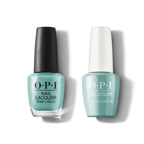 OPI - Gel & Lacquer Combo - Verde Nice To Meet You-Beyond Polish