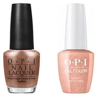 OPI - Gel & Lacquer Combo - Worth a Pretty Penne-Beyond Polish