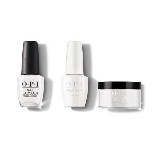 OPI - Gel, Lacquer & Dip Combo - Alpine Snow-Beyond Polish