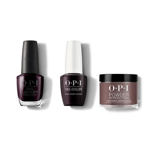 OPI - Gel, Lacquer & Dip Combo - Black Cherry Chutney-Beyond Polish