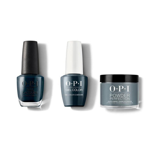 OPI - Gel, Lacquer & Dip Combo - CIA = Color is Awesome-Beyond Polish