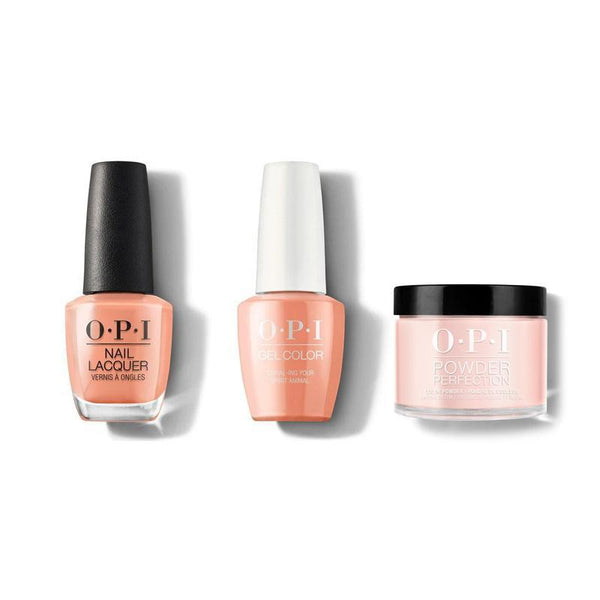 OPI - Gel, Lacquer & Dip Combo - Coral-ing Your Spirit Animal-Beyond Polish