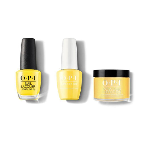 OPI - Gel, Lacquer & Dip Combo - Exotic Birds do not Tweet-Beyond Polish