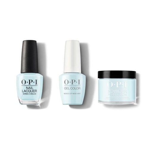 OPI - Gel, Lacquer & Dip Combo - Mexico City Move-mint-Beyond Polish
