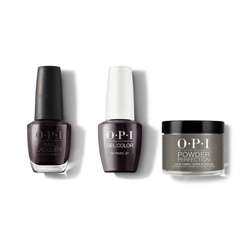 OPI - Gel, Lacquer & Dip Combo - My Private Jet-Beyond Polish