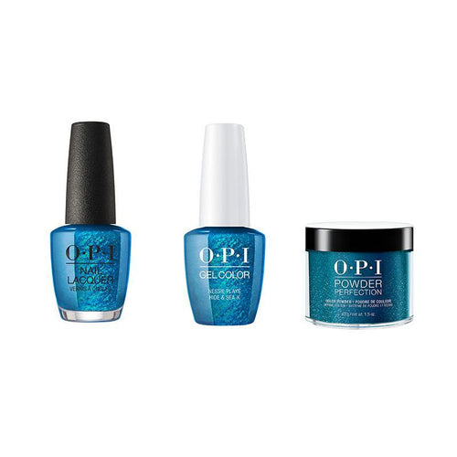 OPI - Gel, Lacquer & Dip Combo - Nessie Plays Hide & Sea-k-Beyond Polish