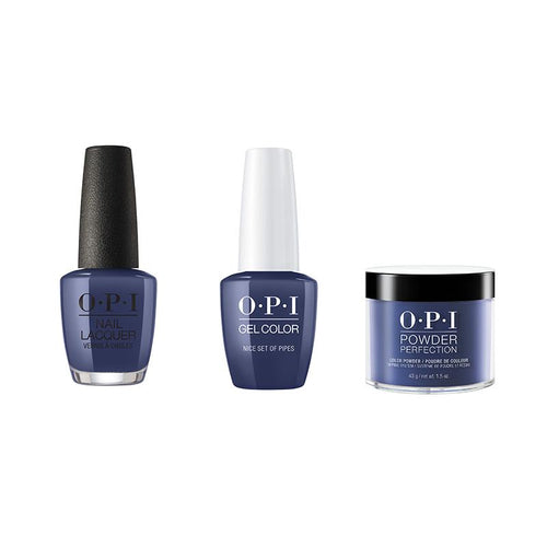 OPI - Gel, Lacquer & Dip Combo - Nice Set Of Pipes-Beyond Polish