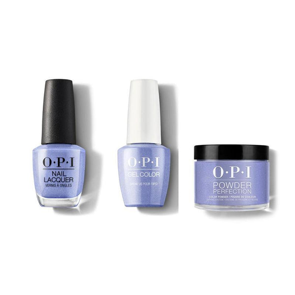 OPI - Gel, Lacquer & Dip Combo - Show Us Your Tips!-Beyond Polish