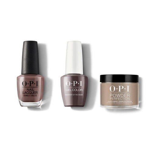 OPI - Gel, Lacquer & Dip Combo - Squeaker of the House-Beyond Polish