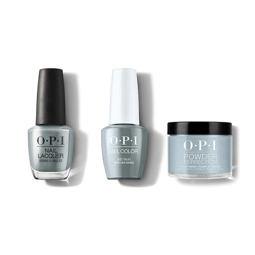 OPI - Gel, Lacquer & Dip Combo - Suzi Talks With Her Hands-Beyond Polish