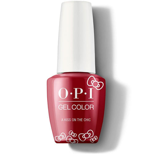 OPI GelColor - A Kiss On The Chic 0.5 oz - #HPL05-Beyond Polish