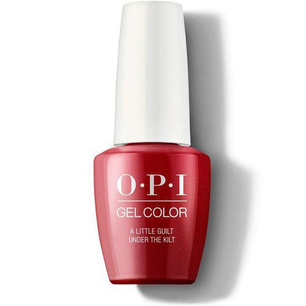 OPI GelColor - A Little Guilt Under The Kilt 0.5 oz - #GCU12-Beyond Polish
