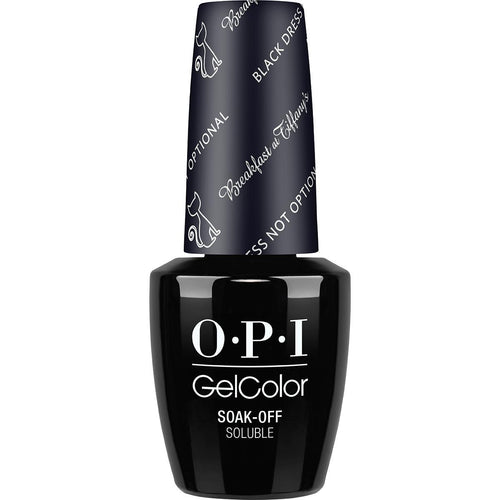 OPI GelColor- Black Dress Not Optional 0.5 oz - #HPH03 (Original Bottle Design)-Beyond Polish