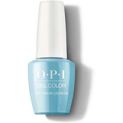 OPI GelColor - Can't Find My Czechbook 0.5 oz - #GCE75-Beyond Polish
