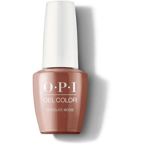 OPI GelColor - Chocolate Moose 0.5 oz - #GCL89-Beyond Polish