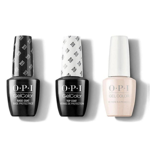 OPI - GelColor Combo - Base, Top & Be There in a Prosecco-Beyond Polish