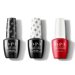 OPI - GelColor Combo - Base, Top & Big Apple Red-Beyond Polish