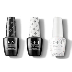 OPI - GelColor Combo - Base, Top & Born To Sparkle-Beyond Polish