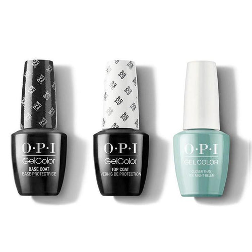 OPI - GelColor Combo - Base, Top & Closer Than You Might Belém-Beyond Polish