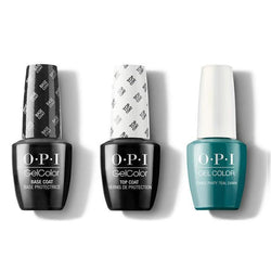 OPI - GelColor Combo - Base, Top & Dance Party 'Teal Dawn-Beyond Polish
