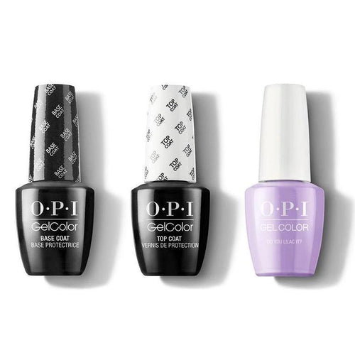 OPI - GelColor Combo - Base, Top & Do You Lilac It?-Beyond Polish